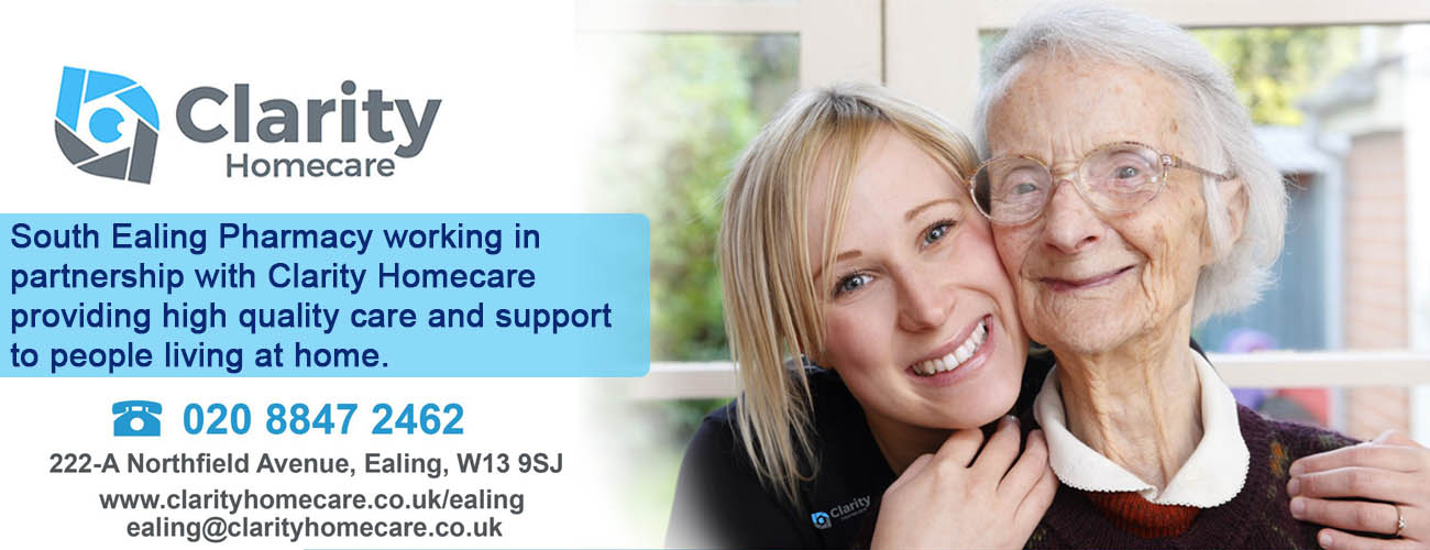 South Ealing Pharmacy Clarity Homecare